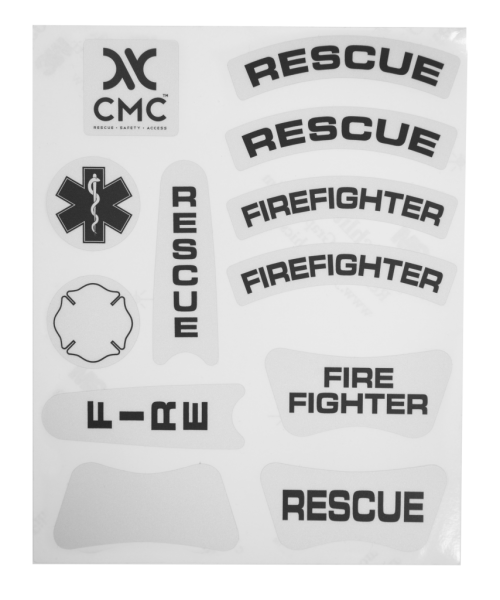 CMC Rescue DECAL SET Helmaufkleber