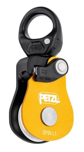 Petzl SPIN L1 Einfachrolle Umlenkrolle mit integriertem Wirbel